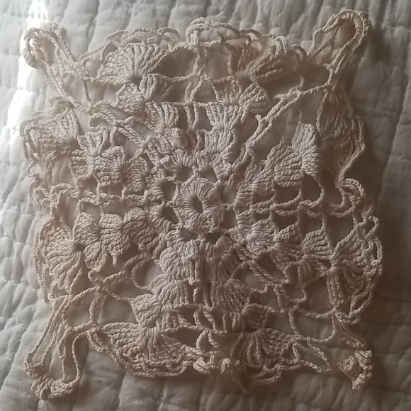 Vintage Handmade Doilies - Lot of 2